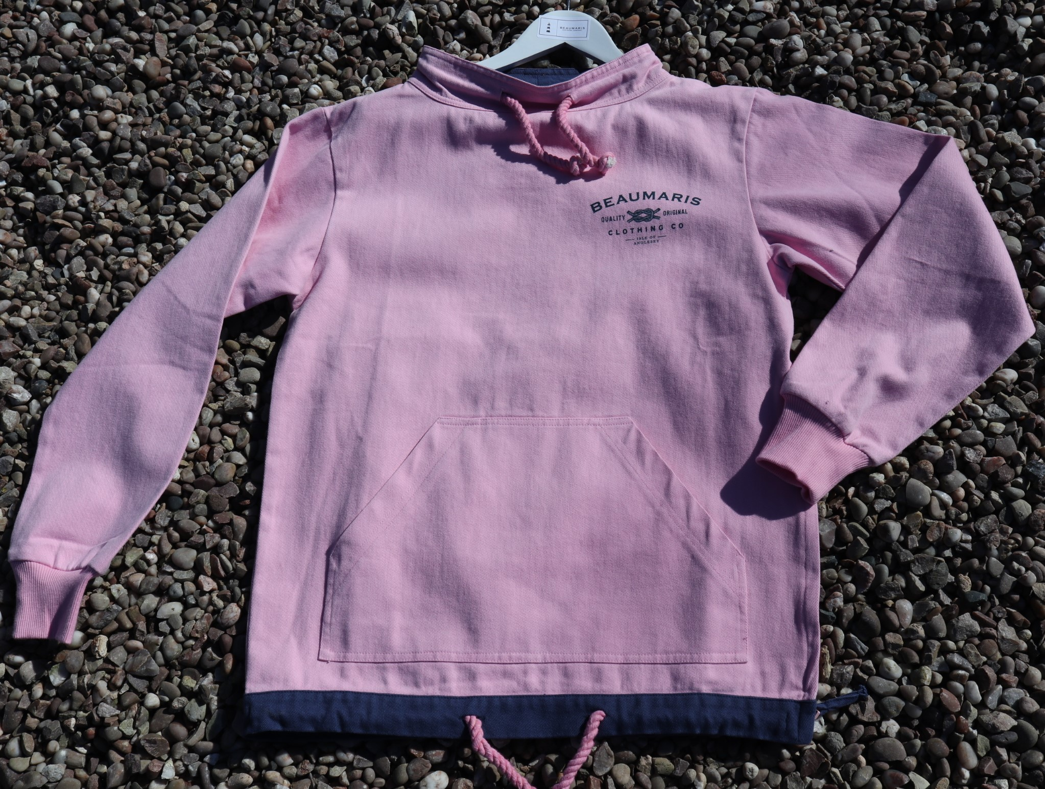 Coast smock canvas top pink