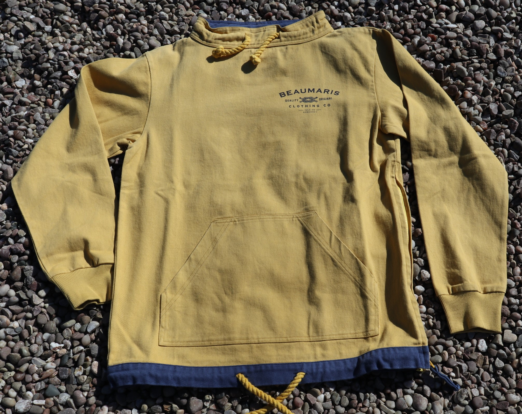 Coast smock canvas top yellow