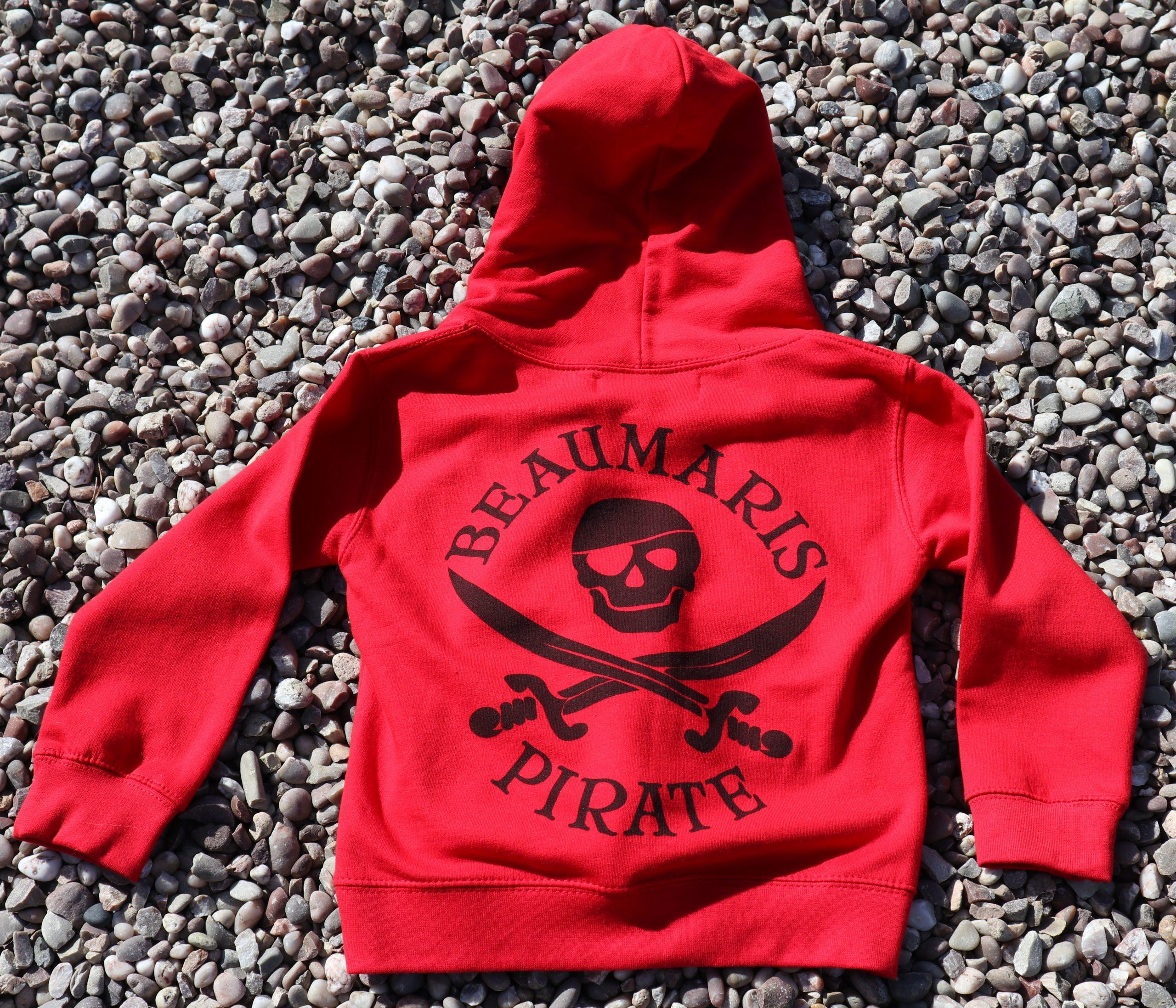Kids Beaumaris pirate hoody