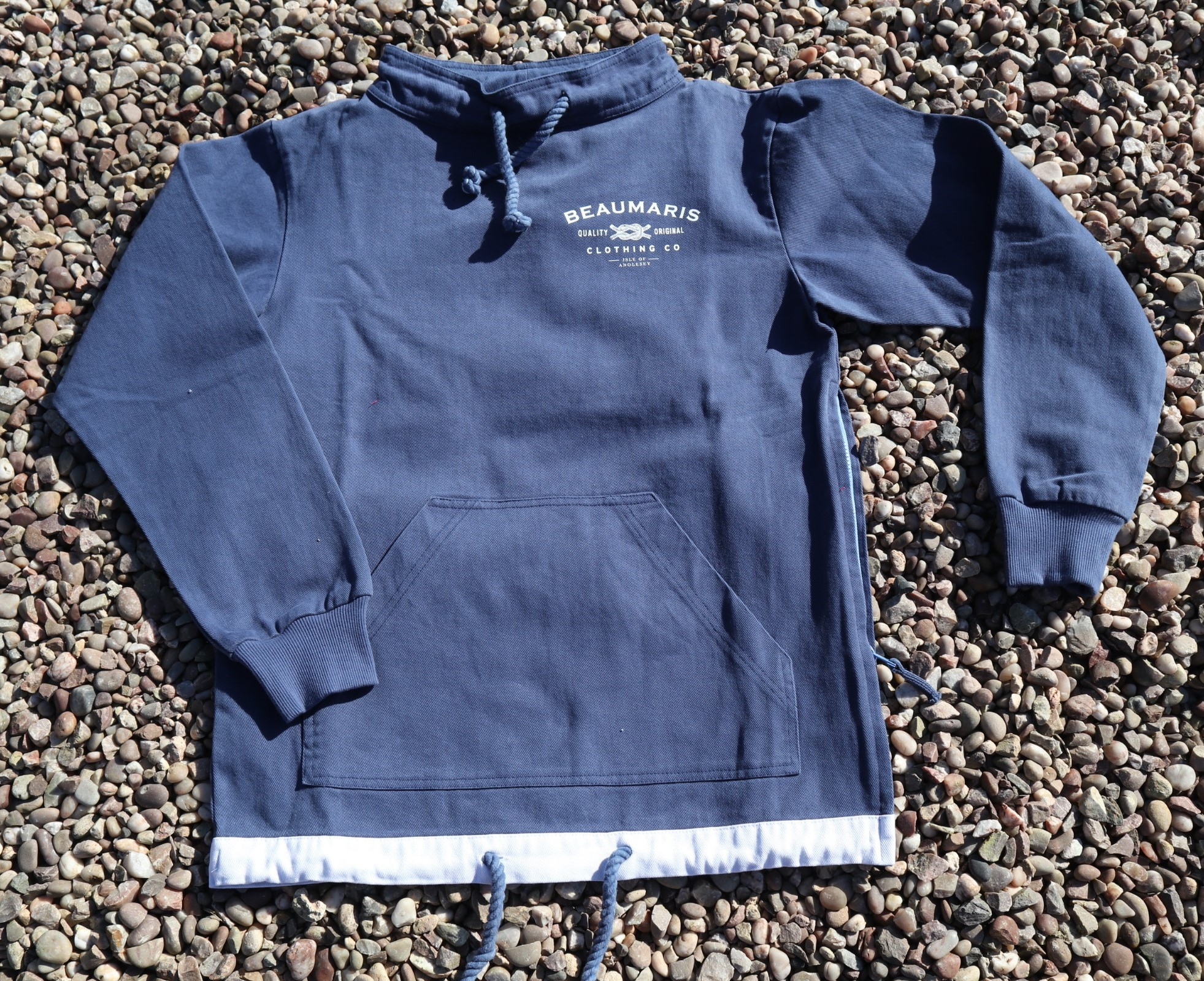 Coast smock canvas top navy