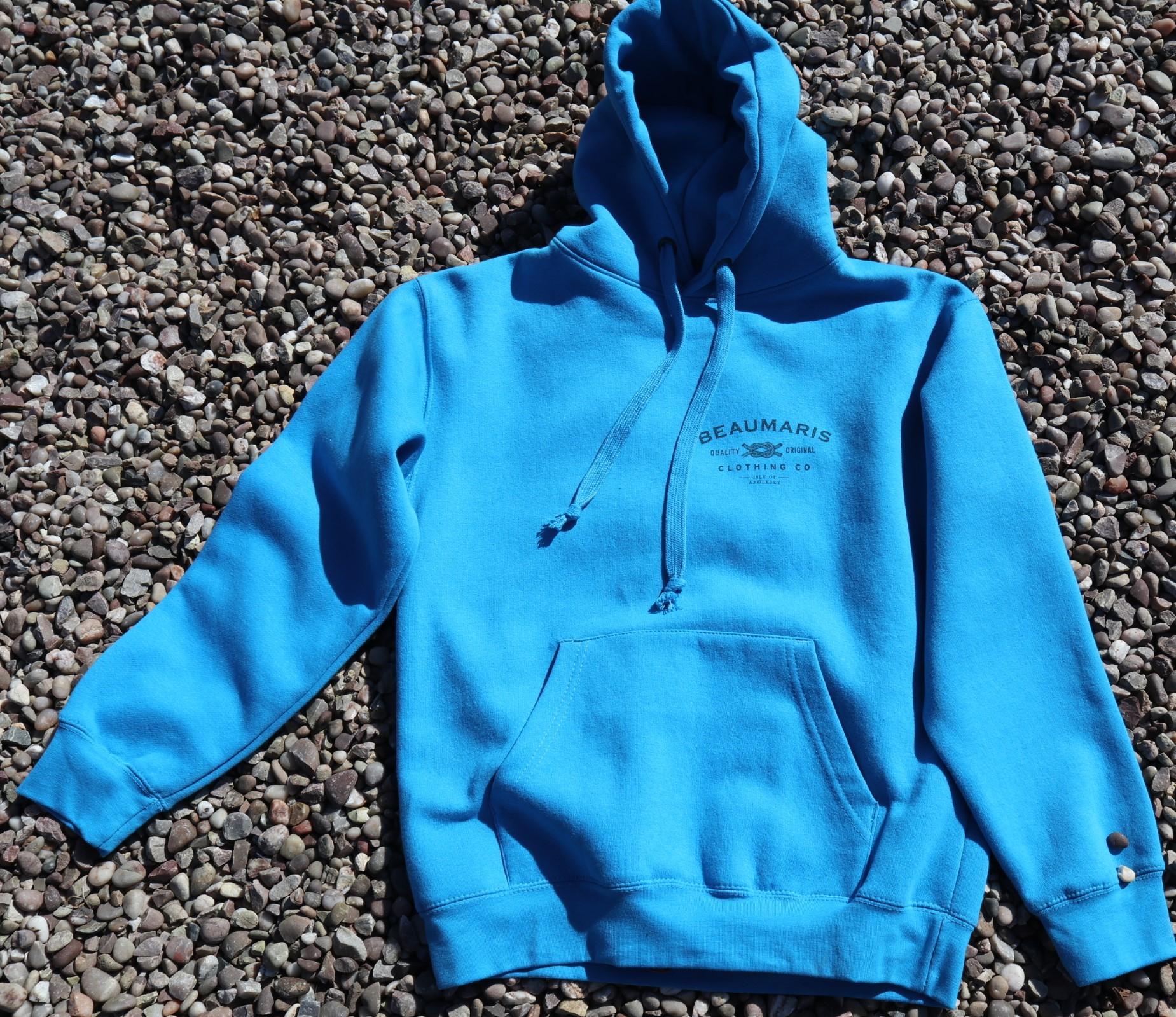 Beaumaris clothing company hoody blue