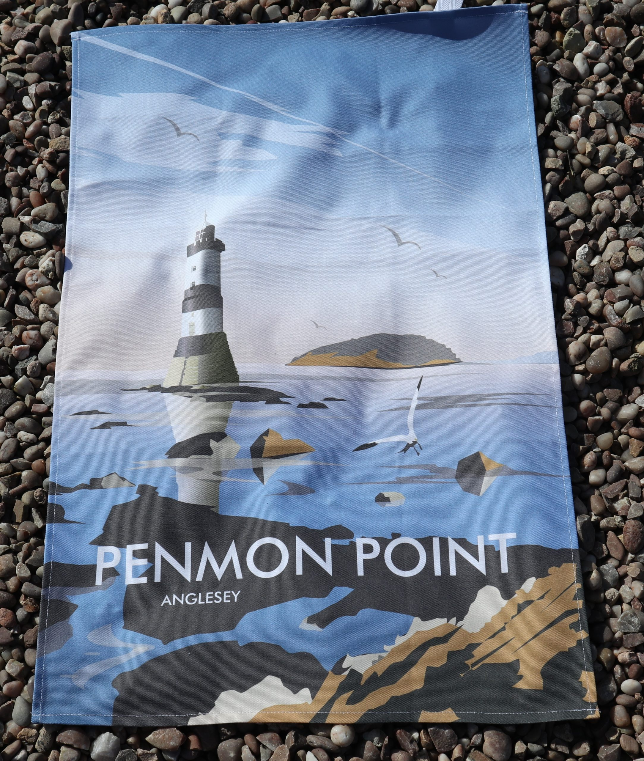 Beaumaris tea towels penmon lighthouse