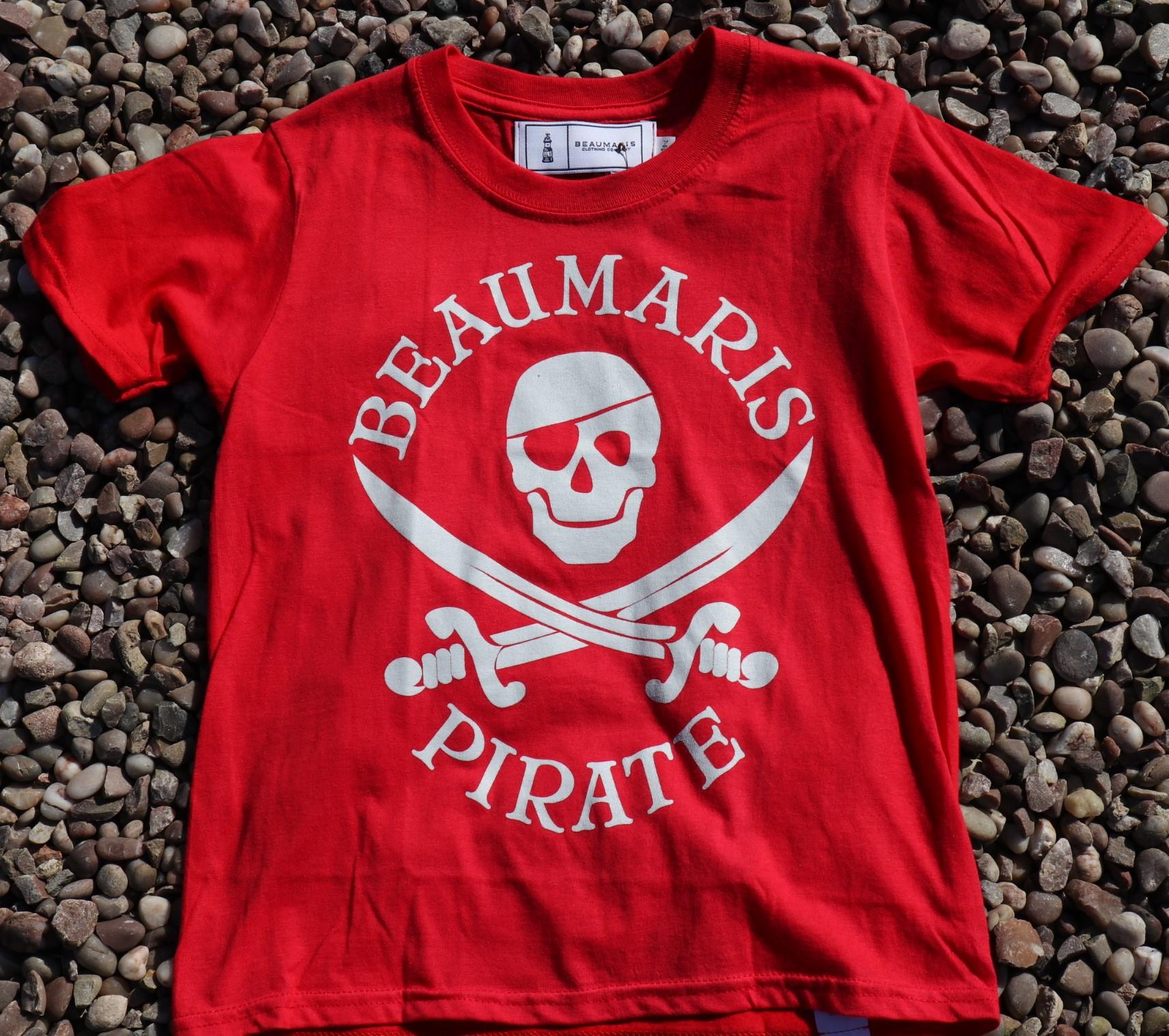 kids beaumaris pirate tee